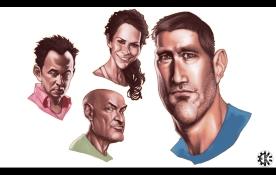 Semi-Caricature Headshot from Lost Photoshop
