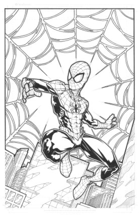 Spider-Man Print Inks